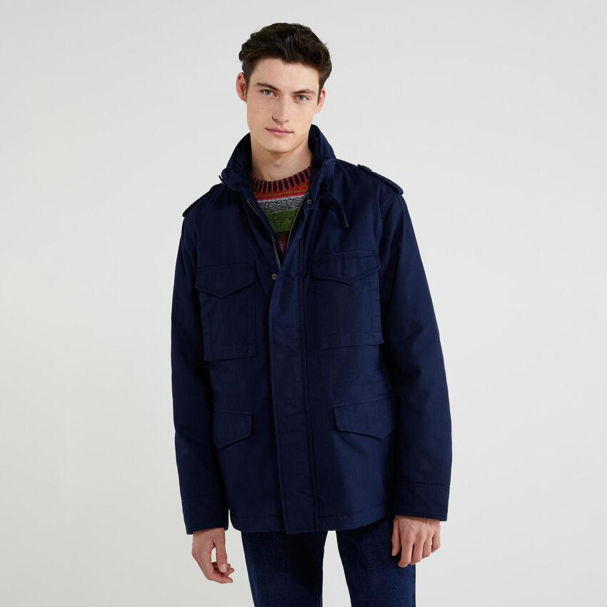 Taschenreiche Jacke