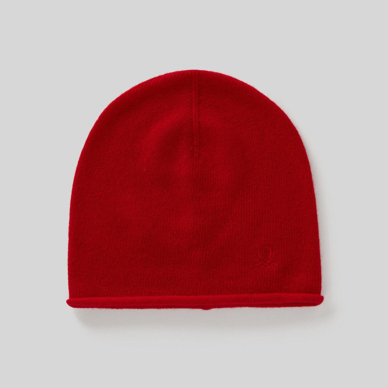 Mütze aus Wolle und Cashmere