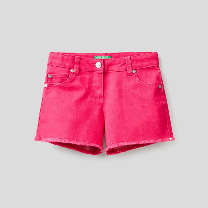 Shorts in einer stretchigen Baumwollmischung