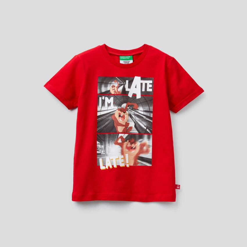 T-Shirt Taz-Mania aus Bio-Baumwolle