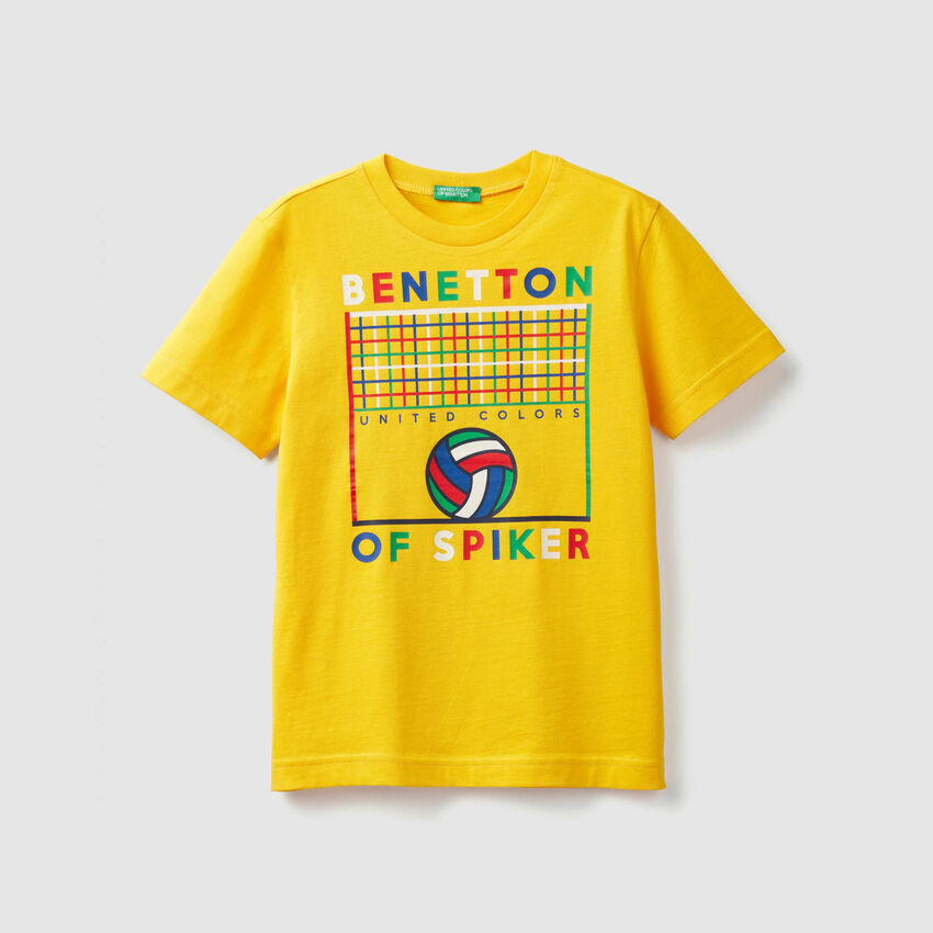 T-Shirt mit Sport-Print
