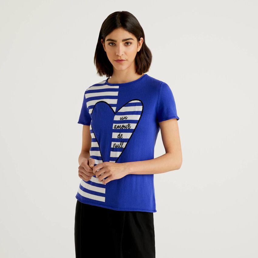 Trikot-Shirt aus Baumwolle