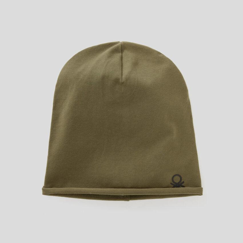 Mütze aus Jersey in 100% Baumwolle