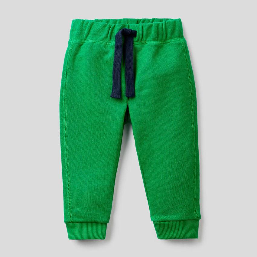 Hose aus Sweatstoff in 100% Baumwolle