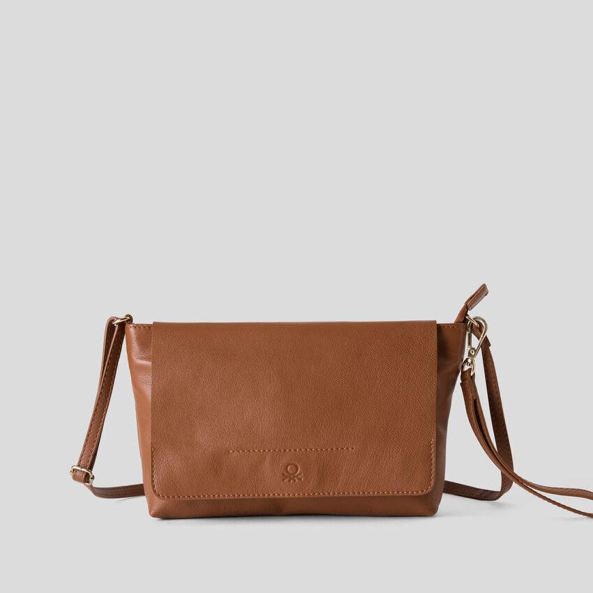 Vielseitige Tasche aus echtem Leder