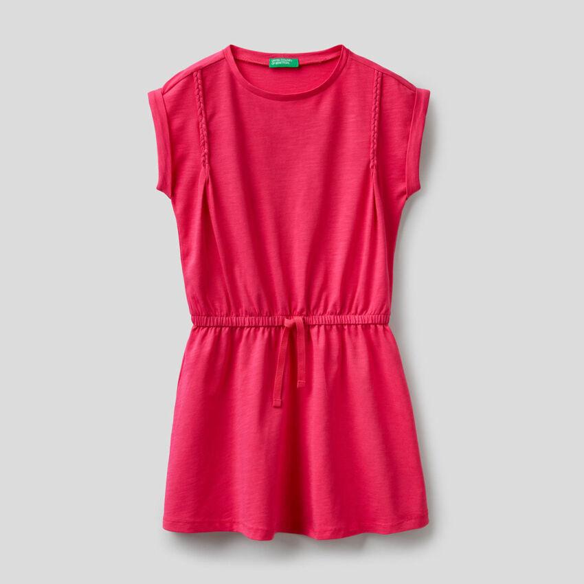 Kleid aus stretchiger Bio-Baumwolle