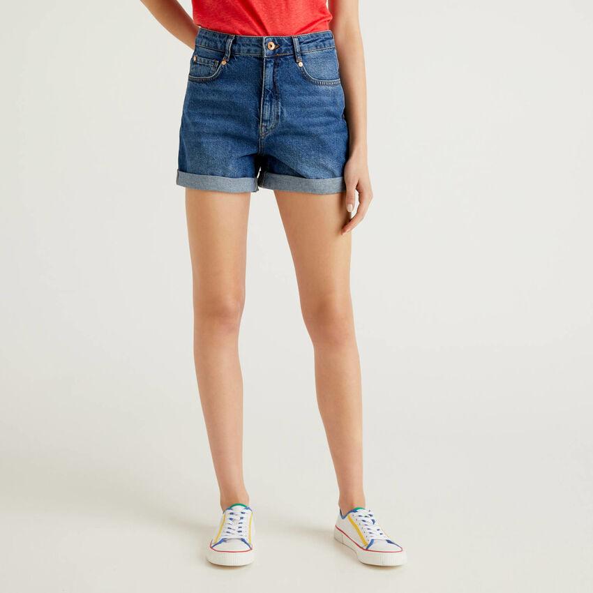Jeansshorts 100% Baumwolle