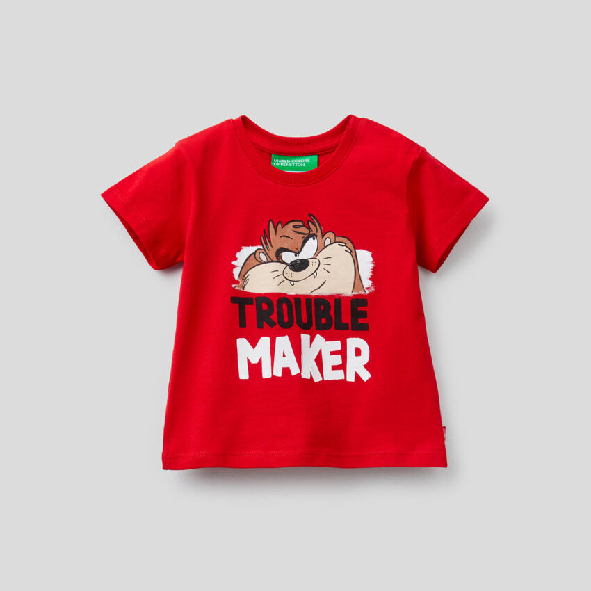 T-Shirt Taz-Mania aus 100% Bio-Baumwolle