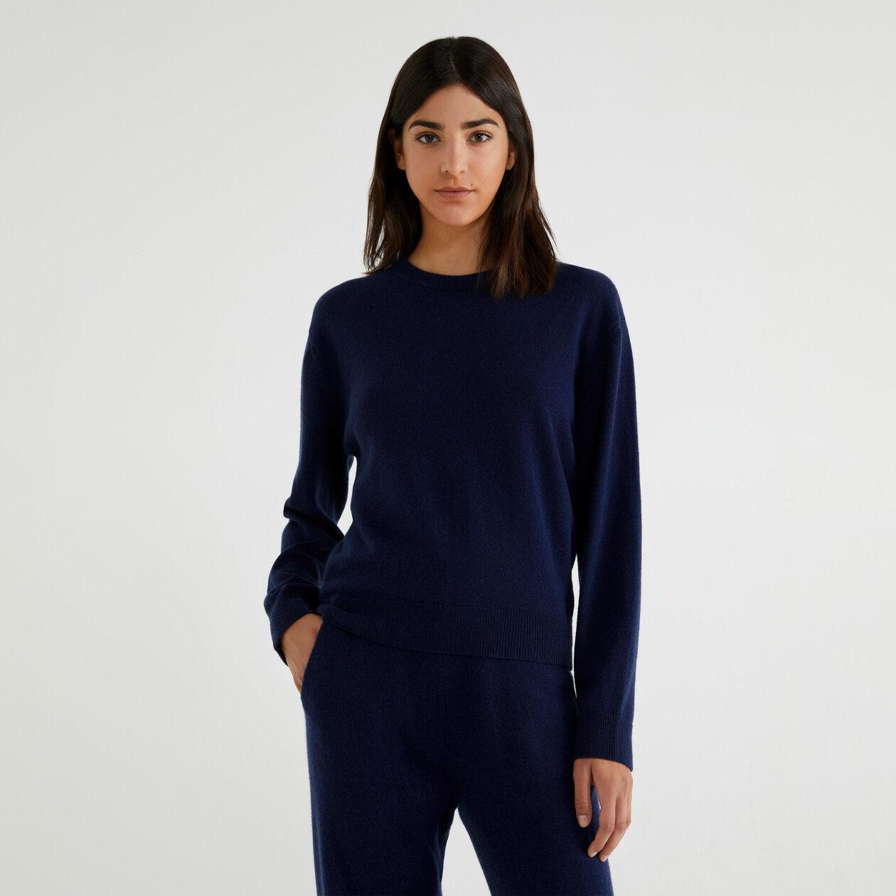 Pullover aus Cashmere und Schurwolle