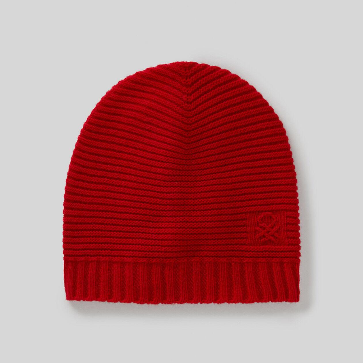 Mütze aus einer Wollmischung