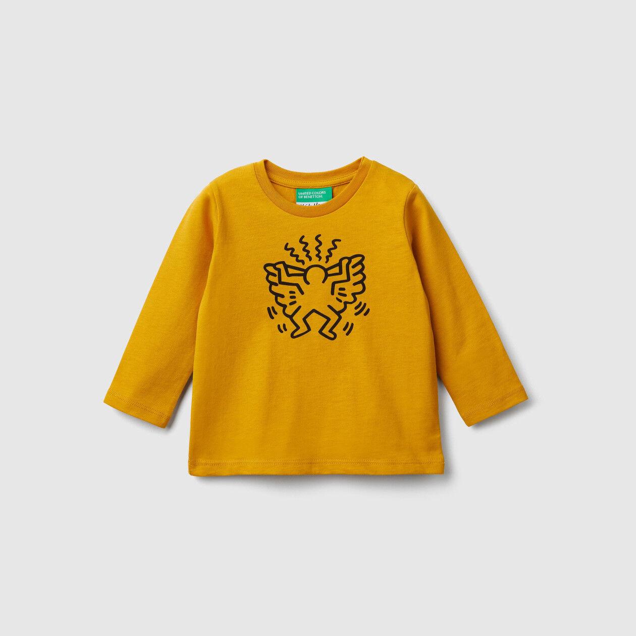 """T-Shirt mit Print """"Keith Haring"""""""