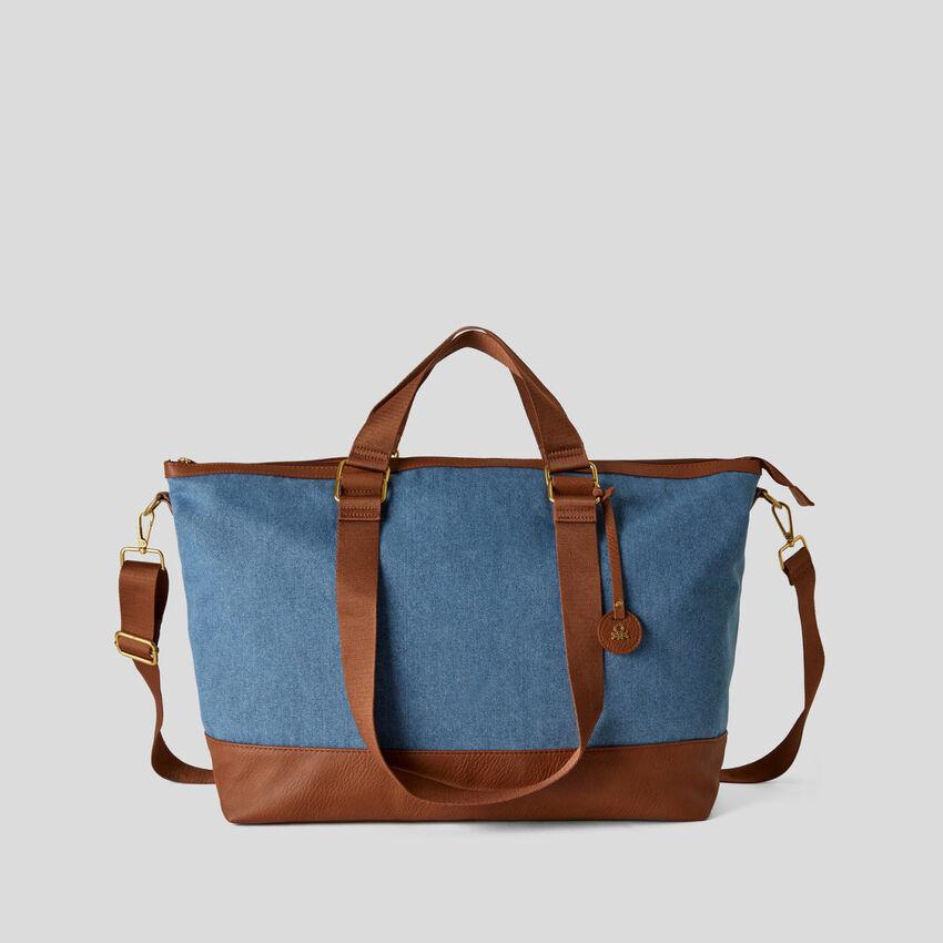 Maxi-Tasche aus Stoff
