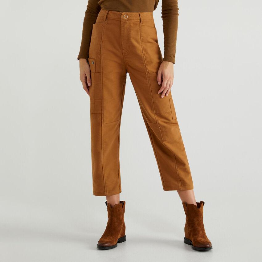 Hose aus Barchent
