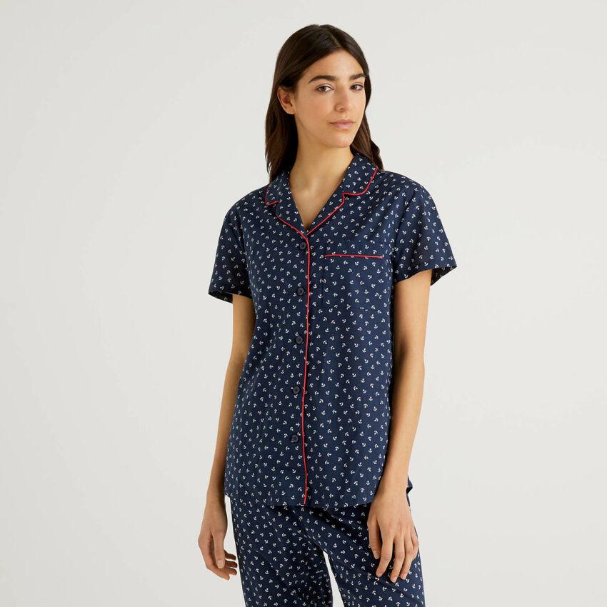 Pyjama-Hemdchen aus reiner Baumwolle