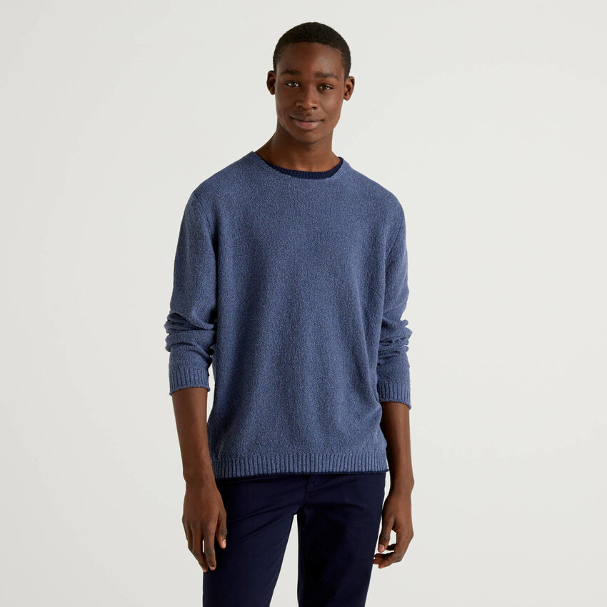 Shirt mit Details in Kontrastfarbe