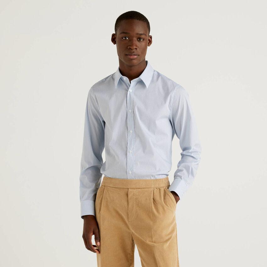 Hemd aus stretchiger Baumwolle