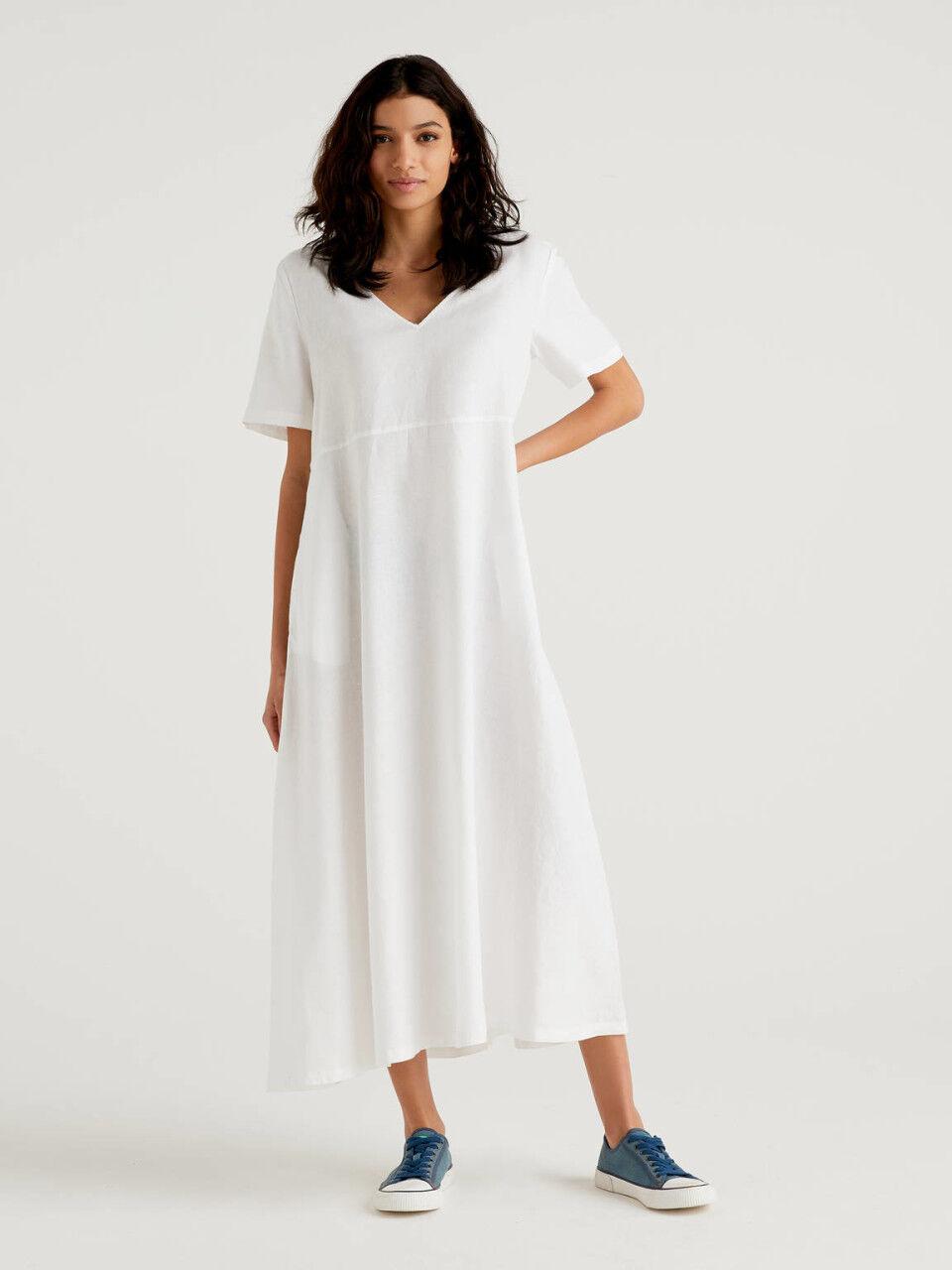 Lange Kleider Damen Neue Kollektion 9   Benetton