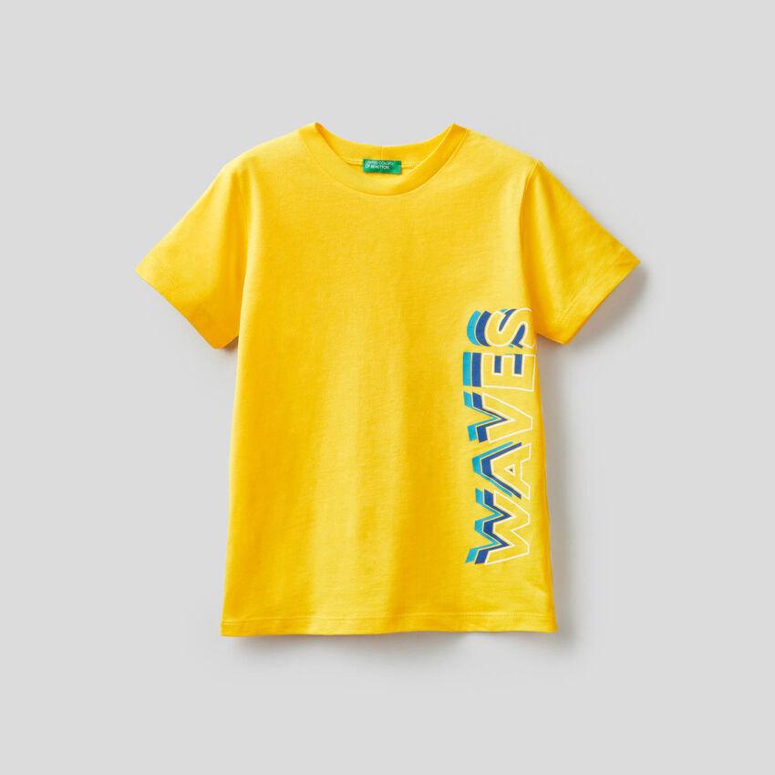 Shirt aus Baumwolle mit Print
