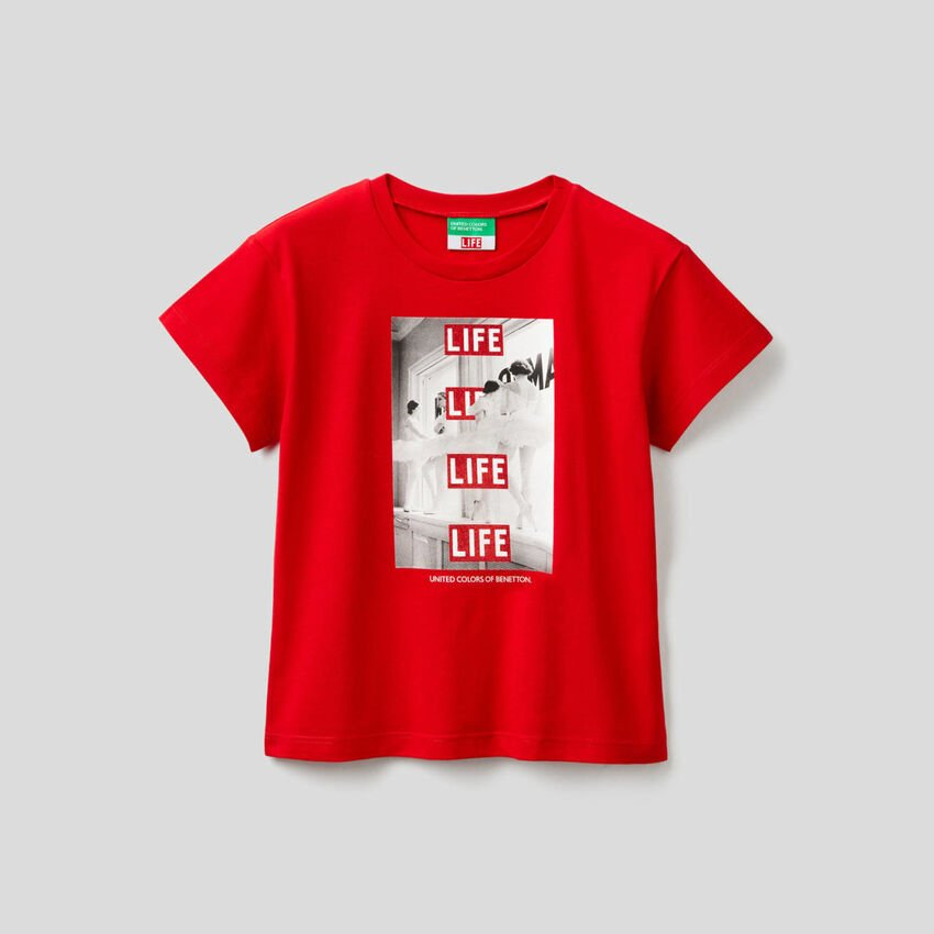 T-Shirt Life aus 100% Bio-Baumwolle