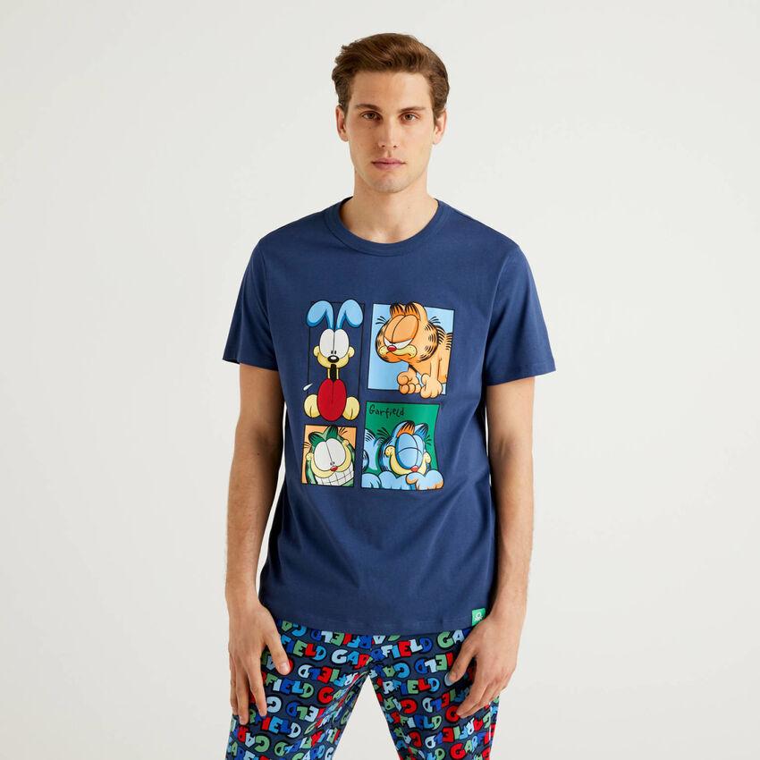 T-Shirt Garfield aus reiner Baumwolle