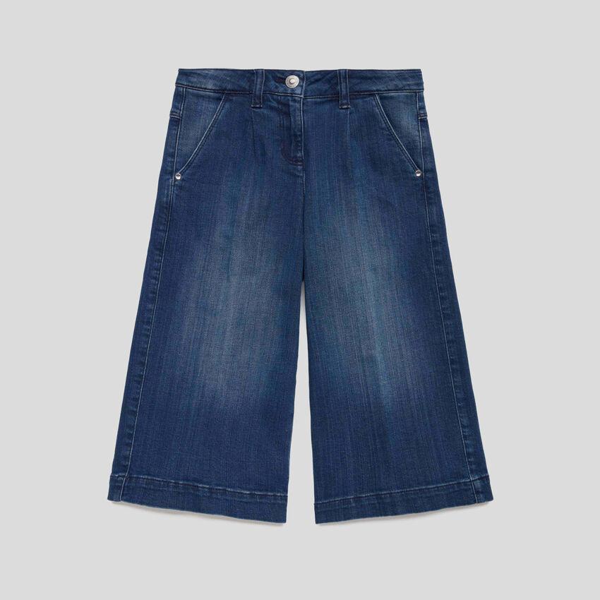 Weite 3/4-Jeans