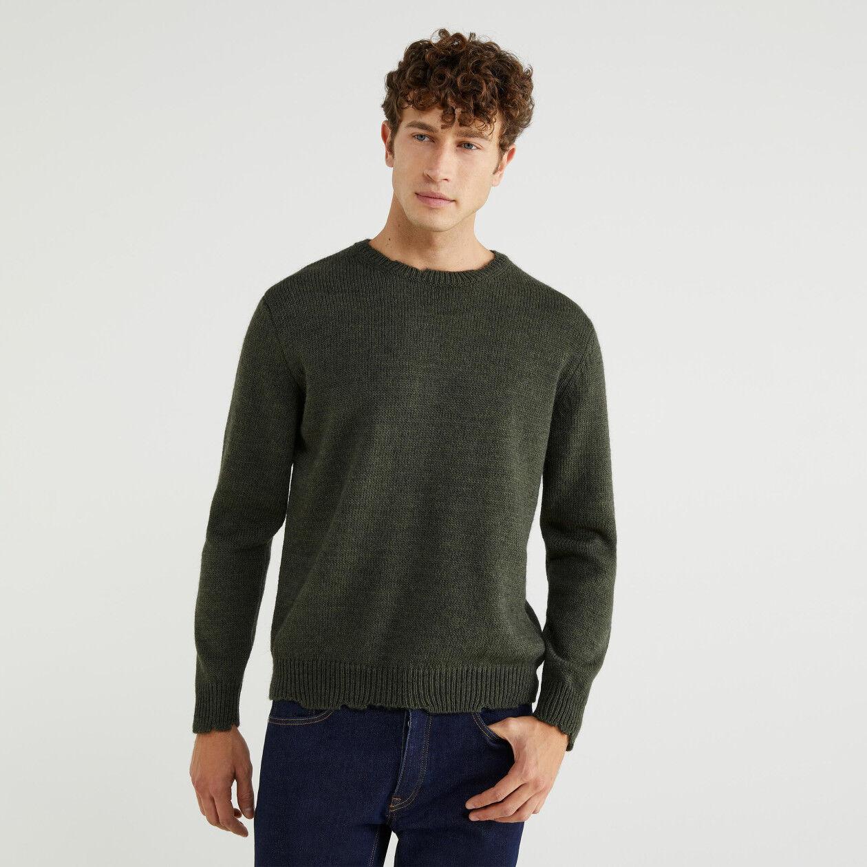 Pullover aus gemischtem Alpaka