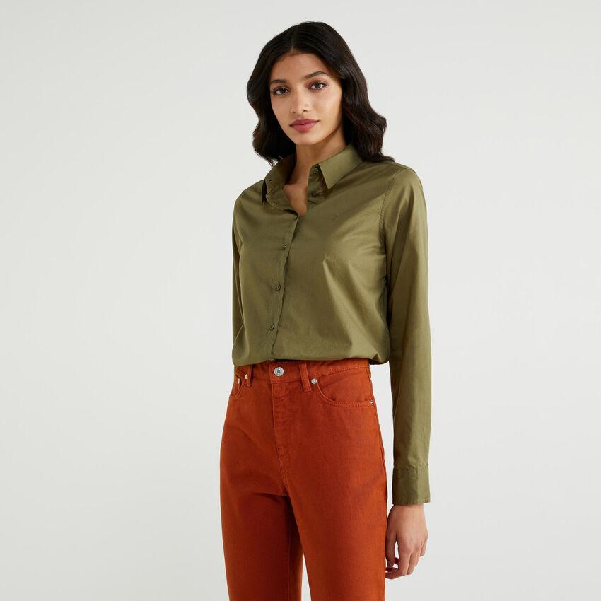 Bluse aus leichter Baumwolle