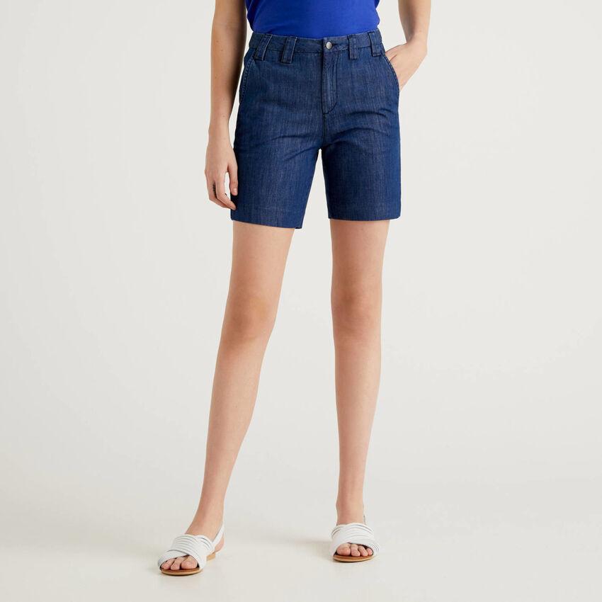 Leichte Jeans-Shorts