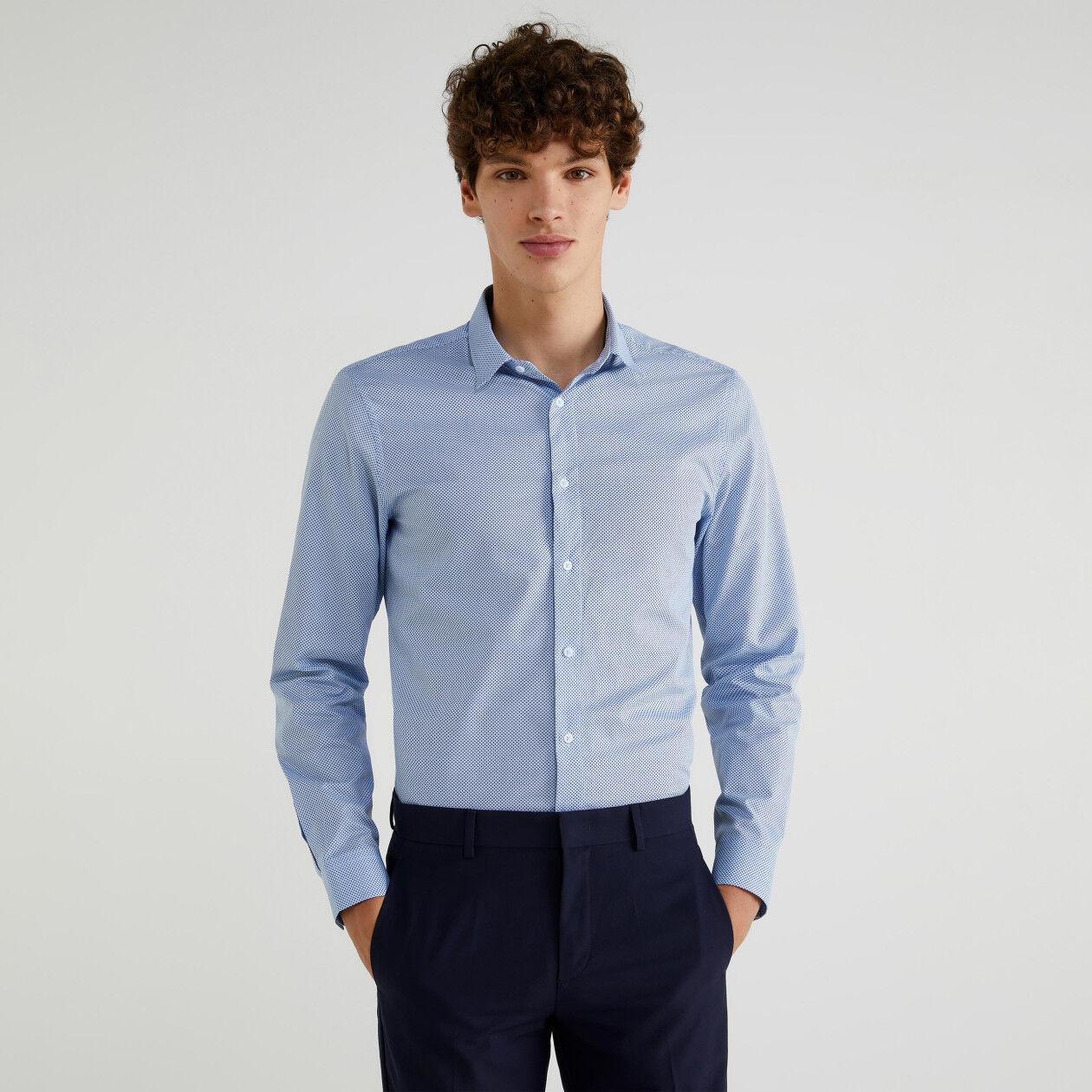 Oxfordhemd mit Print