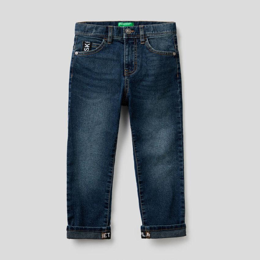 Five-Pocket-Jeans im Straight Fit