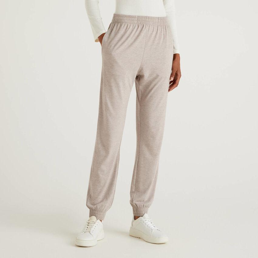 Fließende Loungewear-Hose