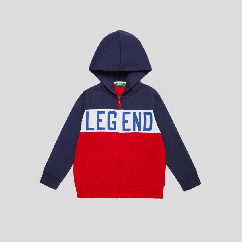 Sweatshirt mit Farbblöcken